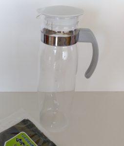 昆布水を作るために用意したボトル